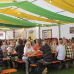 der erste Abend auf dem Erlenbacher Weinfest - tolle Gäste