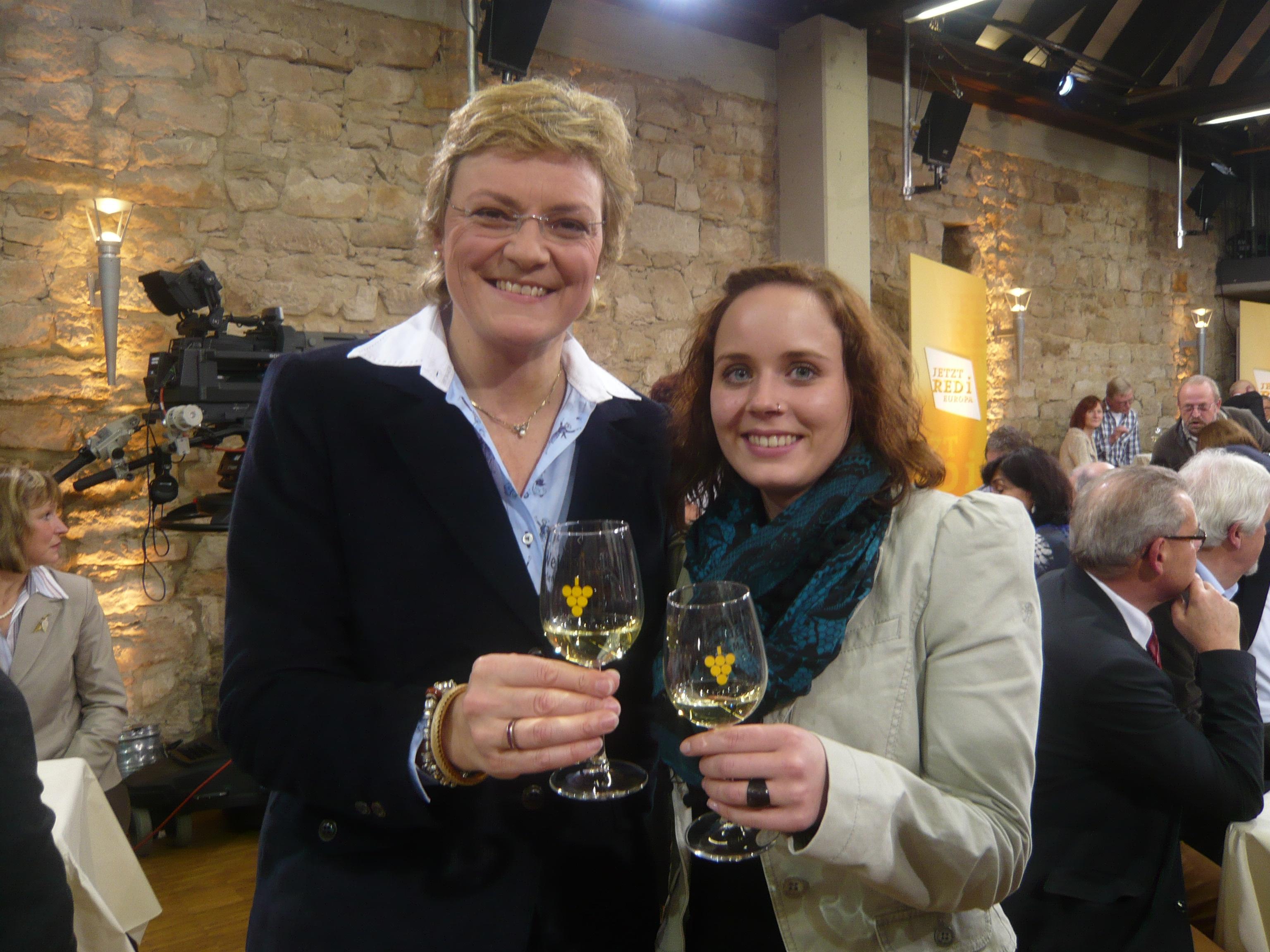 Monika Hohlmeier und Verena Waigand