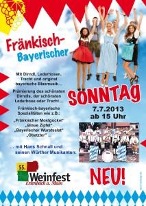 Fränkisch-Bayerischer Sonntag