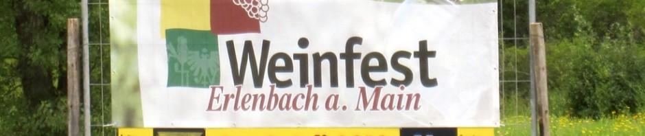 Weinfestbanner